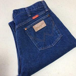 Wranglers Jeans Mom Wedgie 13 x 34 High Waisted